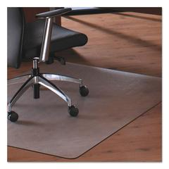 Floortex Cleartex MegaMat Heavy-Duty Polycarbonate Mat for Hard Floor/All Carpet, 46 x 60