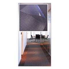 Floortex Long & Strong Floor Protectors, 36 x 216, Clear