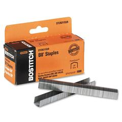 "B8 PowerCrown Premium Staples, 3/8"" Leg Length, 5000/Box"