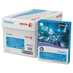 Xerox Vitality Multipurpose Printer Paper, 8 1/2 x 11, White, 500 Sheets/RM