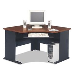 Bush Series A Collection 48W Corner Desk, Hansen Cherry