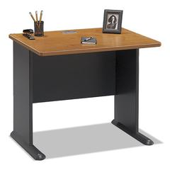 Bush Series A Collection 36W Desk, Natural Cherry