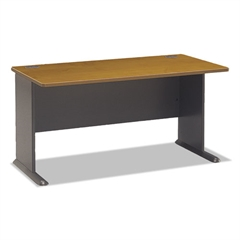 Bush Series A Collection 60W Desk, Natural Cherry