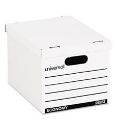 Universal Economy Boxes, 12 x 15 x 9 7/8, White, 10/Carton