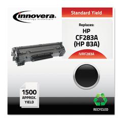 Remanufactured CF283A (83A) Toner, Black