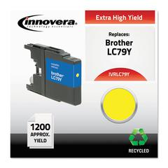 Innovera Remanufactured LC79Y Extra High-Yield Ink, Yellow