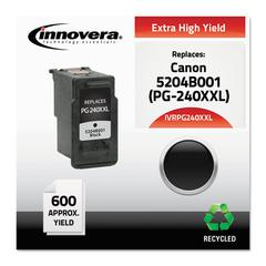 Innovera Remanufactured 5204B001 (PG-240XXL) Extra High-Yield Ink, Black
