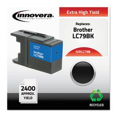 Innovera Remanufactured LC79BK Extra High-Yield Ink, Black
