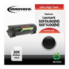 Remanufactured 50F0UA0 (MS510M) Ultra High-Yield MICR Toner, Black
