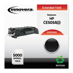 Innovera Remanufactured CE505A(J) (05AJ) Extended-Yield Toner, Black