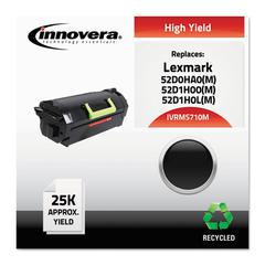 Remanufactured 52D0HA0 (MS710M) High-Yield MICR Toner, Black