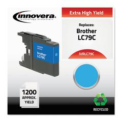 Remanufactured LC79C Extra High-Yield Ink, Cyan