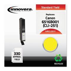 Innovera Remanufactured 6516B001 (CLI-251Y) Ink, Yellow