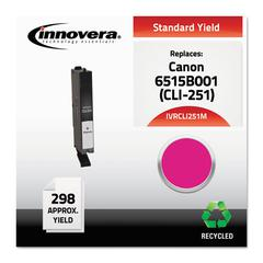 Innovera Remanufactured 6515B001 (CLI-251) Ink, Magenta