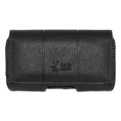 Case Logic Horizontal Pouch for Belt, Leather, Black