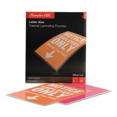 UltraClear Thermal Laminating Pouches, 3 mil, 9 x 11 1/2, 50/Box