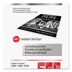 UltraClear Thermal Laminating Pouches, 5 mil, 9 x 11 1/2, 100/Pack
