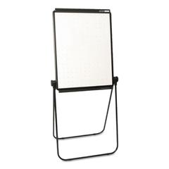 Quartet Unimate Total Erase Presentation Easel, 26 x 34, White Surface, Black Frame