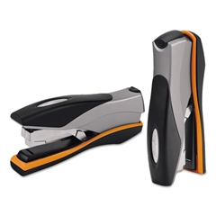 Swingline Optima Desktop Staplers, Full Strip, 40-Sheet Capacity, Silver/Black/Orange