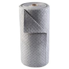 Universal Sorbent-Pad Roll, 30w x 120ft, Gray