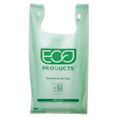 Large Compostable Shopper Bag, 10 Gallon, .96 mil, 50/PK, 10 PK/CT