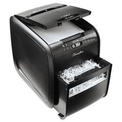 Stack-and-Shred 80X Auto Feed Cross-Cut Shredder, 80 Sheet Capacity