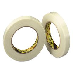 "Filament Tape, 24mm x 55m, 3"" Core, Clear"