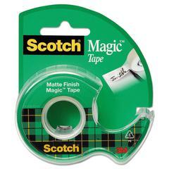 "Magic Tape in Handheld Dispenser, 3/4"" x 300"", 1"" Core, Clear"
