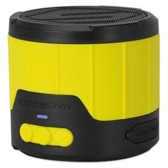 Scosche boomBOTTLE Rugged Weatherproof Speaker, Yellow