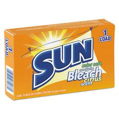 SUN Color Safe Powder Bleach, Vend Pack, 1 load Box, 100/Carton