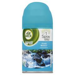 Freshmatic Ultra Automatic Spray Refill, Fresh Waters, Aerosol 6.17 oz, 6/Carton