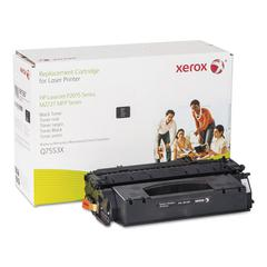 006R01387 Replacement High-Yield Toner for Q7553X (53X), Black