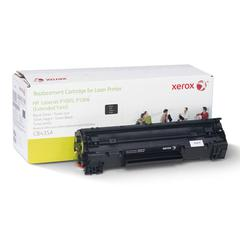 Xerox 6R3198 Compatible Reman CB435A Extended Yield Toner, 2300 Page-Yield, Black