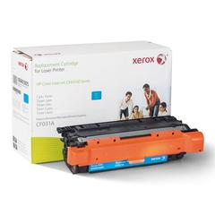 Xerox 006R03005 Remanufactured CF031A (646A) Toner, 12500 Page-Yield, Cyan
