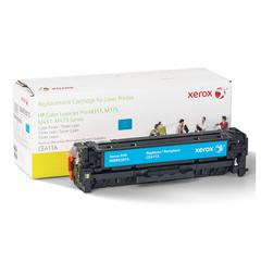 Xerox 6R3015 (CE411A) Compatible Remanufactured Toner, 2600 Page-Yield, Cyan
