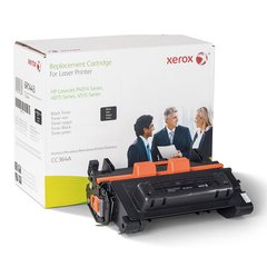 Xerox 6R1443 Replacement Toner for CC364A, 11700 Page Yield, Black