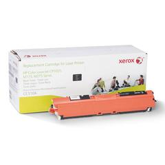 Xerox 106R2257 Compatible Reman CE310A Toner, 1200 Page-Yield, Black