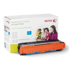 Xerox 106R2262 (CE741A) Compatible Remanufactured Toner, 7300 Page-Yield, Cyan