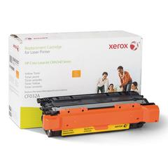 Xerox 6R3007 (CF032A) Compatible Remanufactured Toner, 12500 Page-Yield, Yellow