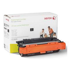Xerox 106R2220 Replacement High-Yield Toner for CE260X, 17000 Page Yield, Black