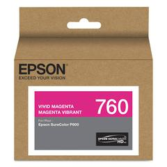Epson T760320 (760) UltraChrome HD Ink, Vivid Magenta