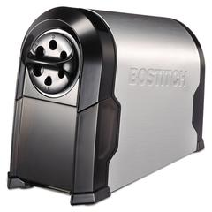 Bostitch SuperPro Glow Commercial Electric Pencil Sharpener, Black/Silver