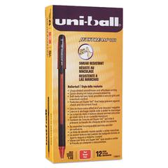 Jetstream 101 Roller Ball Stick Water-Resistant Pen, Red Ink, Medium, Dozen