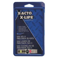 No. 11 Bulk Pack Blades for X-Acto Knives, 500/Box