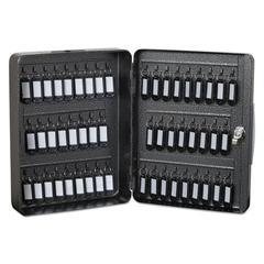 FireKing Hercules Key Cabinets Key Lock, 52-Key, Steel, Silver Vein