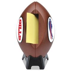 """Post-it NFL Football Dispenser, 3"""" x 3"""", Tan, Buffalo Bills"""