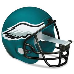 "Scotch NFL Helmet Tape Dispenser, Philadelphia Eagles, Plus 1 Roll Tape 3/4"" x 350"""