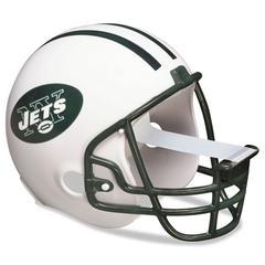 """Scotch NFL Helmet Tape Dispenser, New York Jets, Plus 1 Roll Tape 3/4"""" x 350"""""""