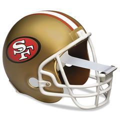 "Scotch NFL Helmet Tape Dispenser, San Francisco 49ers, Plus 1 Roll Tape 3/4"" x 350"""