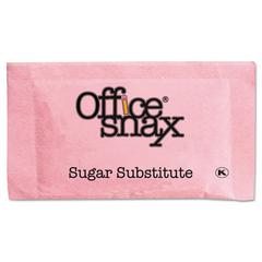 Office Snax Pink Sweetener, 2000 Packets/Carton